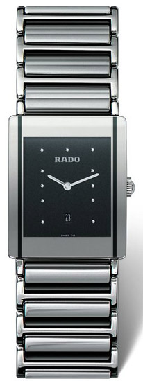 Rado Integral Series Platinum-tone Ceramic Mens Watch R20484172