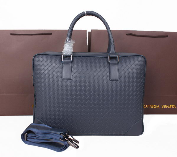 Bottega Veneta Intrecciato VN Briefcase M80009B RoyalBlue
