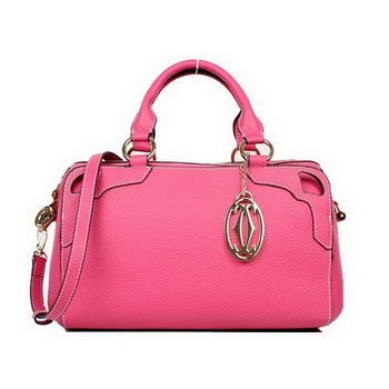 Cartier Marcello De Medium Bbowling Bag Pink