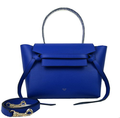 Celine mini Belt Bag Original Leather C98311 Blue