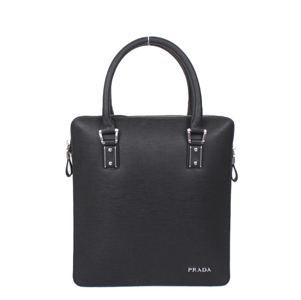 PRADA Saffiano Calf Leather Tote Bag 79772 Black
