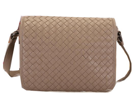 Bottega Veneta Flap Messenger Bag BV1158 Khaki