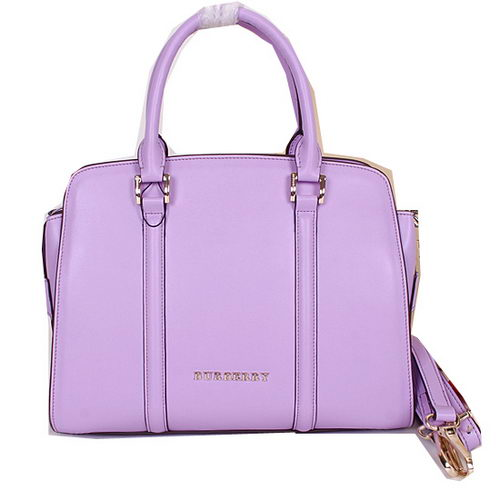BurBerry Original Leather Tote Bag B5001180 Lavender