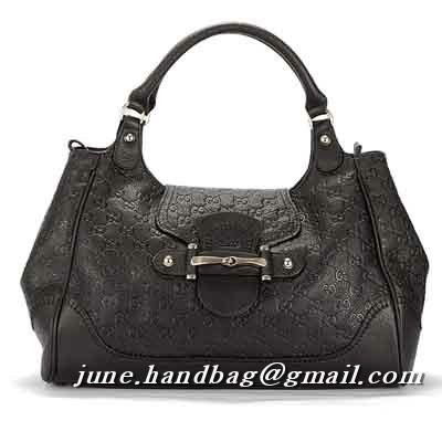 Gucci New Pelham Guccissima Large Shoulder Bag 223958 Dark Coffee