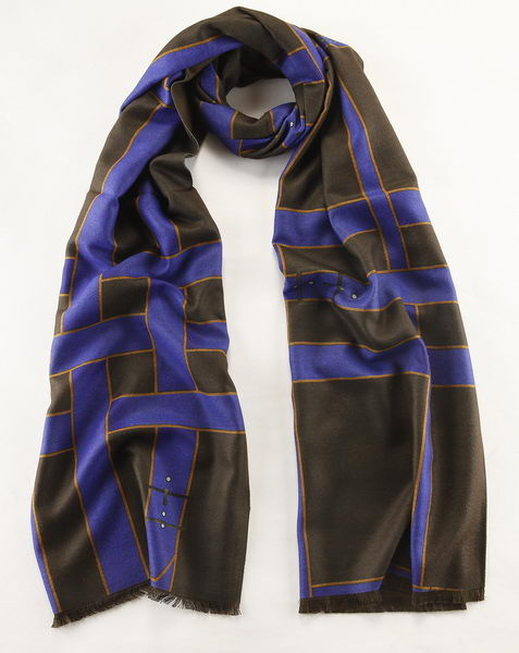 Burberry Scarves Cashmere BU6730D Black