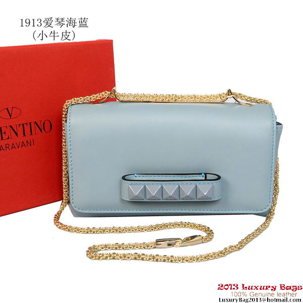Valentino Garavani Shoulder Bag V1913 Light Blue