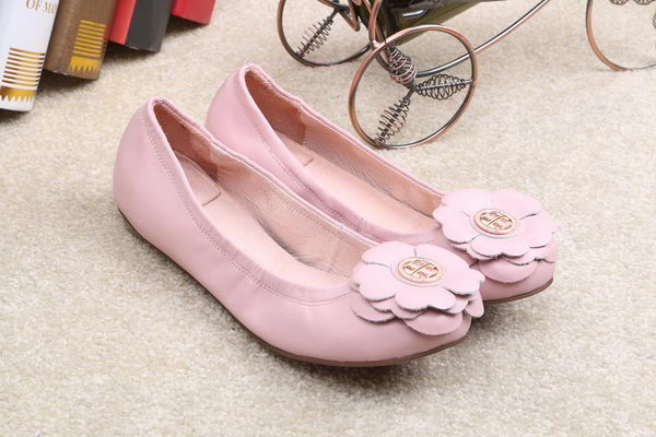 Tory Burch Ballerina Leather TB1500 Pink