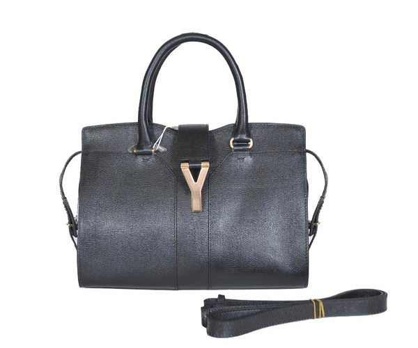 Yves Saint Laurent Small Cabas Chyc Bag YSL8220-1 Black