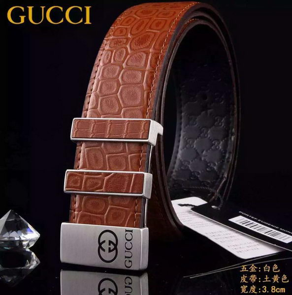 GUCCI Belt G3837S Wheat