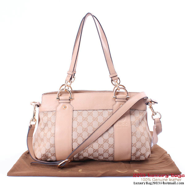Gucci Smilla Medium Top Handle Bag 269925 Light Pink