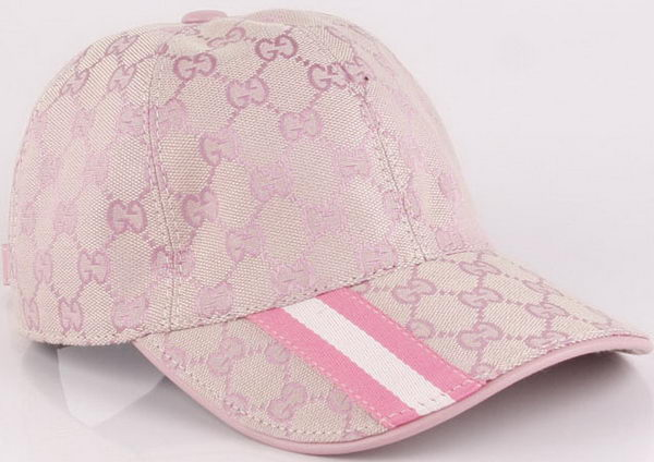 Gucci Peaked Cap GG39 Light Pink