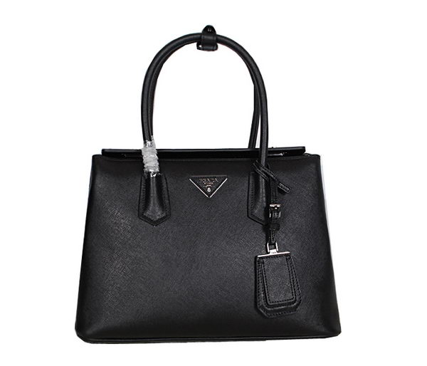 Prada Saffiano Leather Tote Bag BN2747 Black