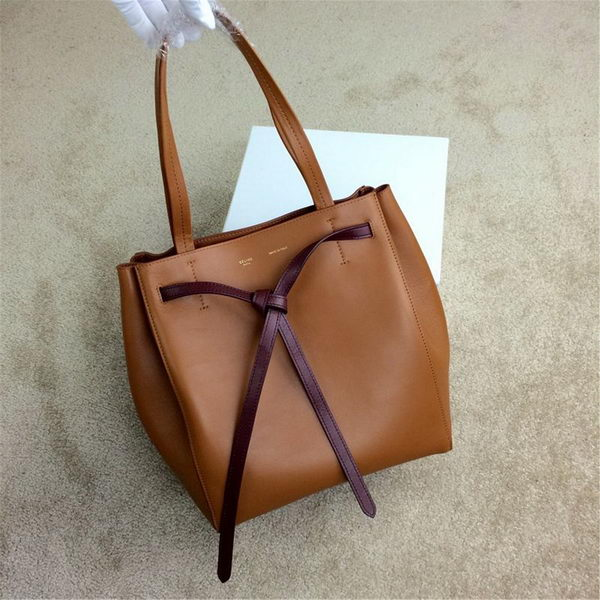 Celine Cabas Phantom Bags Original Leather C2208 Wheat