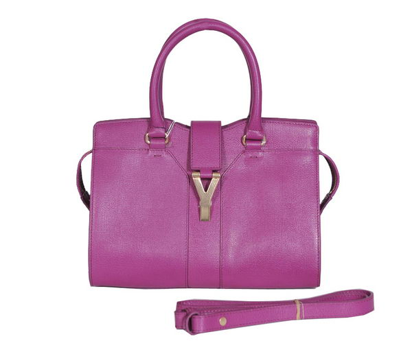 Yves Saint Laurent Small Cabas Chyc Bag YSL8220 Purple
