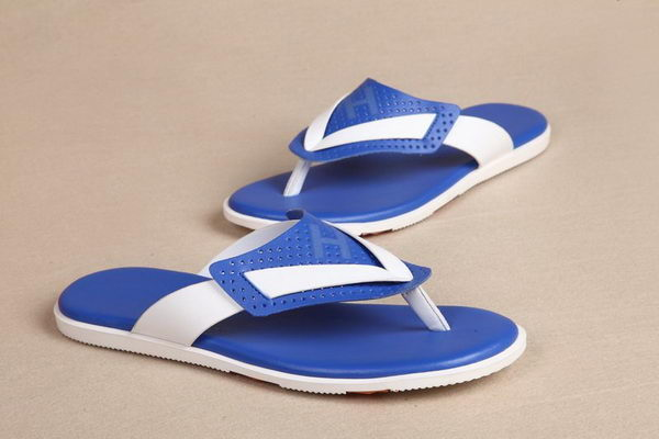 Hermes Calf Leather Slippers HO0326 Blue