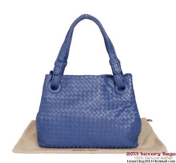 Bottega Veneta Intrecciato Nappa Shoulder Bag BV2731 Violet