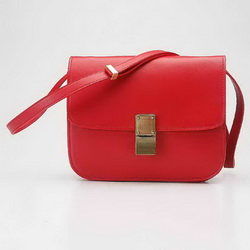 Celine Classic Box Large Flap Bag 80077 Red