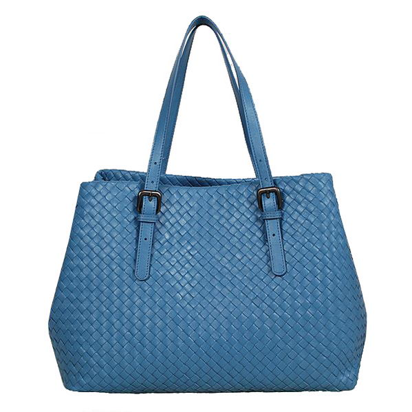 Bottega Veneta Intrecciato Nappa Tote Bag BV1026 SkyBlue