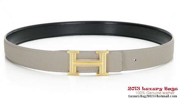 Hermes 43mm Diamond Belt HB104-3