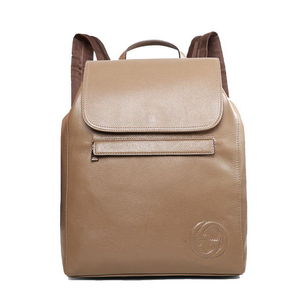 Gucci BackPack in Calfskin Leather 322061 Khaki