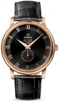 Omega De Ville Prestige Small Seconds Watch 158623D