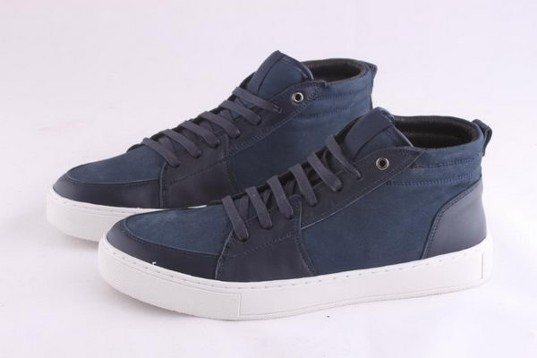 Yves Saint Laurent Casual Shoes Suede Leather YSL236 Blue