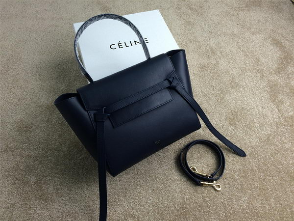 Celine mini Belt Bag Original Leather C98311 Royal