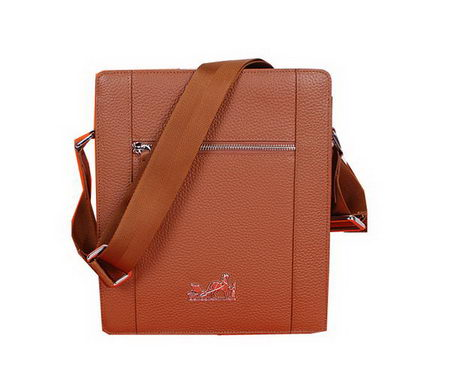 Hermes Messenger Bag Original Grainy Leather H28085 Wheat