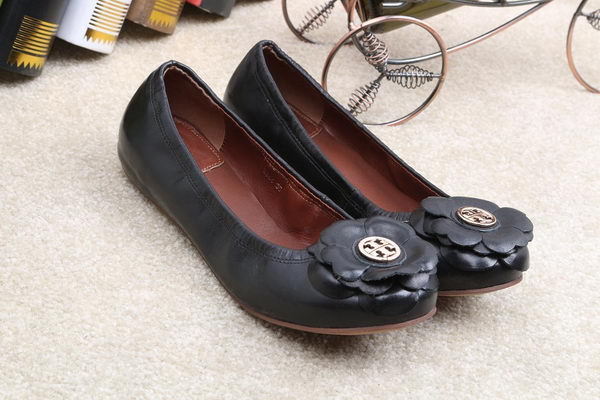 Tory Burch Ballerina Leather TB1500 Black
