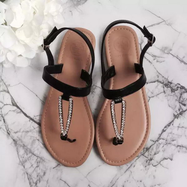 Tory Burch Sandals Leather TB1515 Black