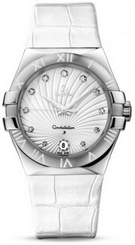 Omega Constellation Quarz 35mm Watch 158639J
