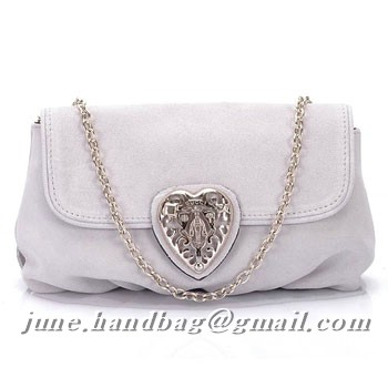 Gucci Babouska Evening Bag 208710 White