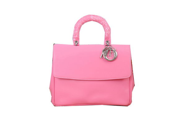 Dior Cruise 2015 Show Top Handle Bag D0918 Pink