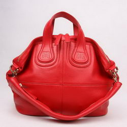 Givenchy Fashion Cow Leather Top Handle Bags Red 29881