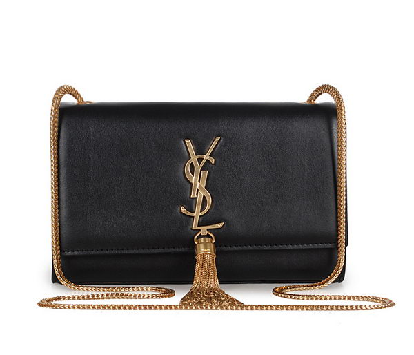 Yves Saint Laurent mini Monogramme Cross-body Shoulder Bag 326076 Black