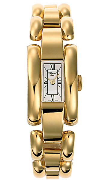 Chopard La Strada Series 18kt Yellow Gold Ladies Swiss Quartz Watch 417396