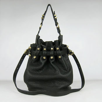 Alexander Wang Diego Studded Bucket Bag 63462 Black