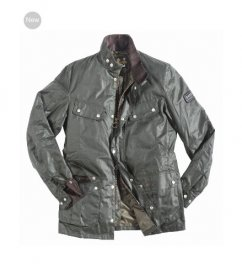 Mens Barbour Duke Waxed Jacket Sage