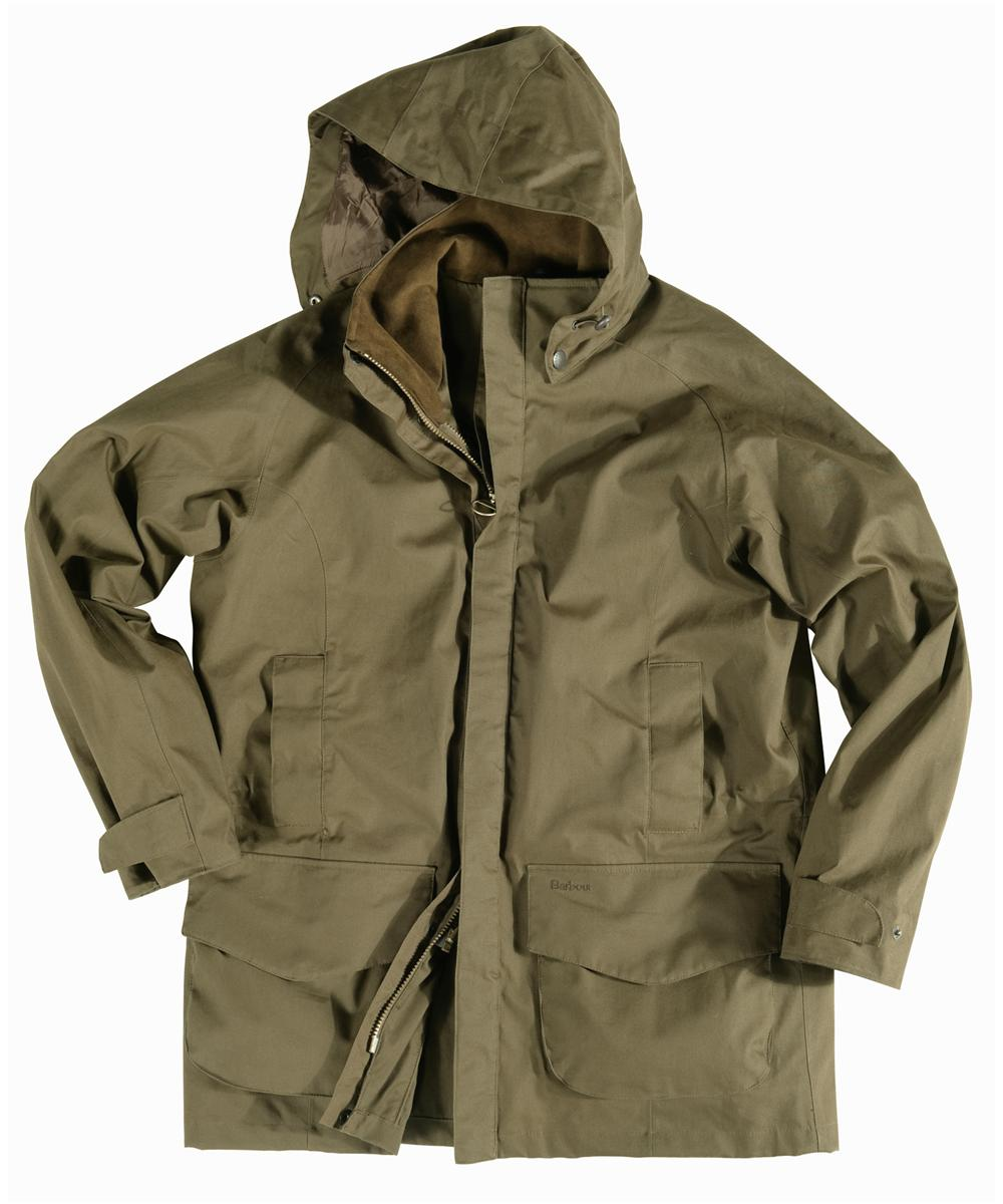 Barbour Mens New Crossfell Jacket- Olive