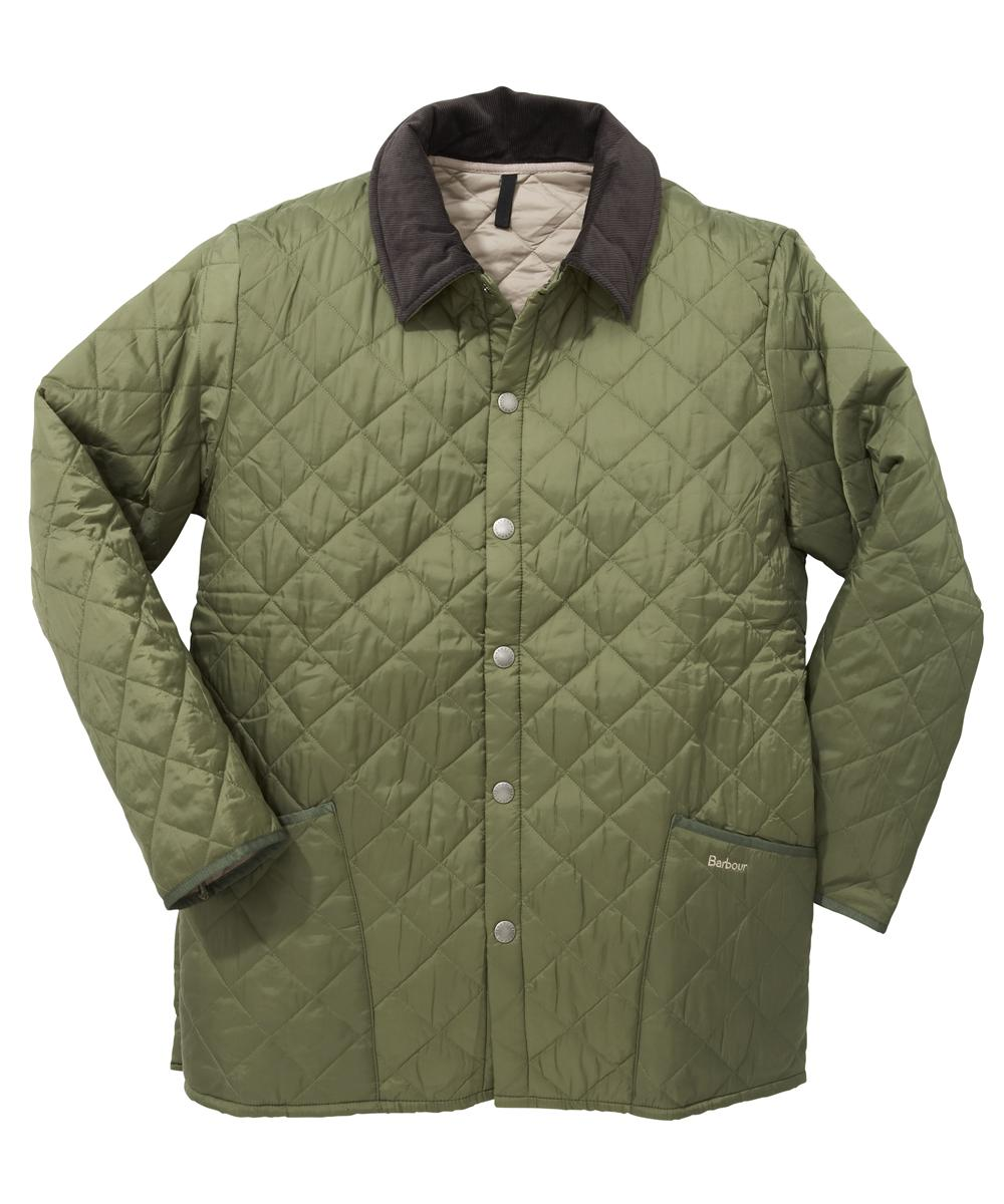 Barbour Liddesdale Jacket - Moss | Cement