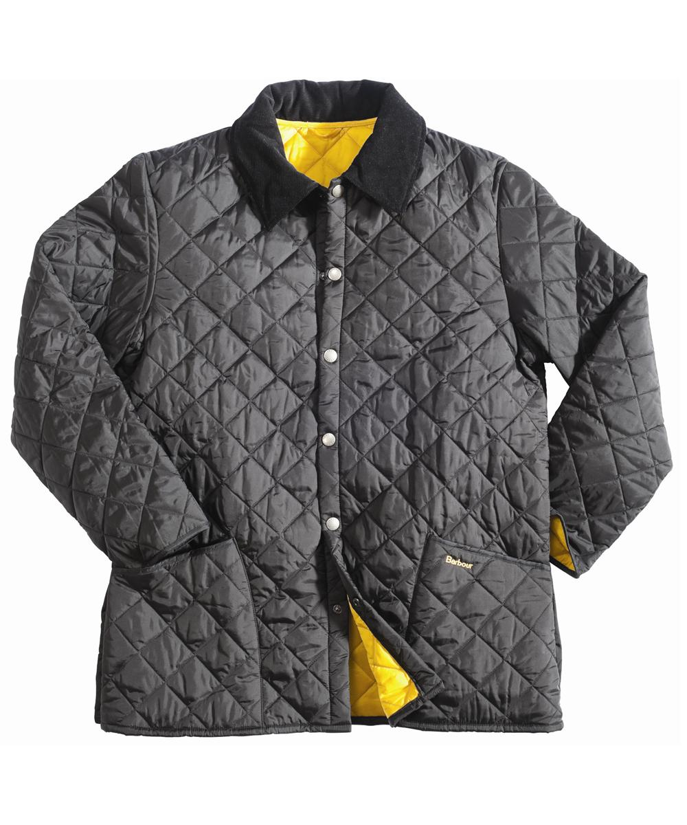 Barbour Liddesdale Jacket - Black | Yellow