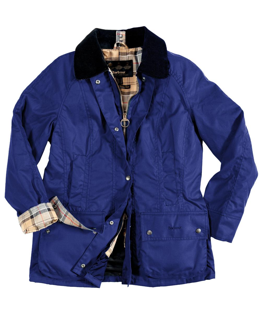Barbour Classic Beadnell Jacket Mid Blue