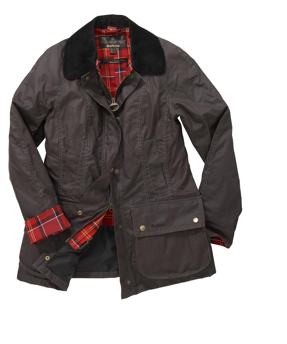 Barbour Classic Beadnell Jacket Charcoal
