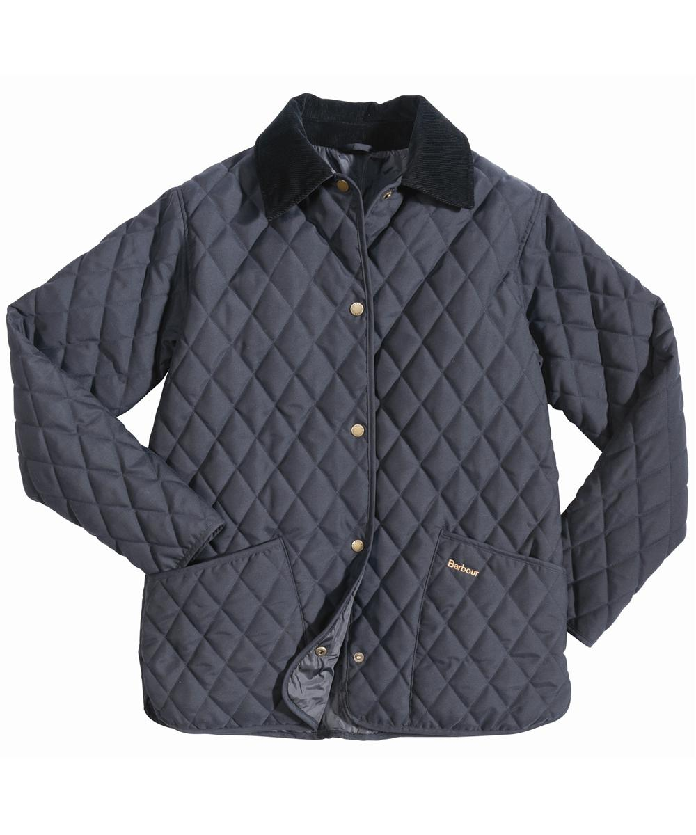 Barbour Eskdale Quilted Jacket Navy