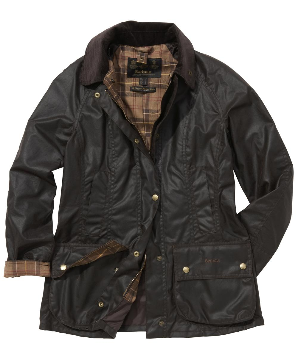Barbour Ladies Beadnell Jacket- Rustic | Muted Tartan