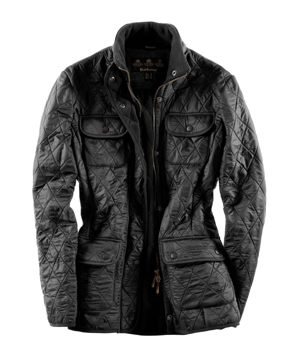 Barbour Ladies Utility Polarquilt- Black