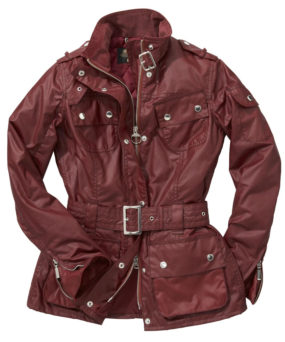 Barbour Nation Jacket Ruby