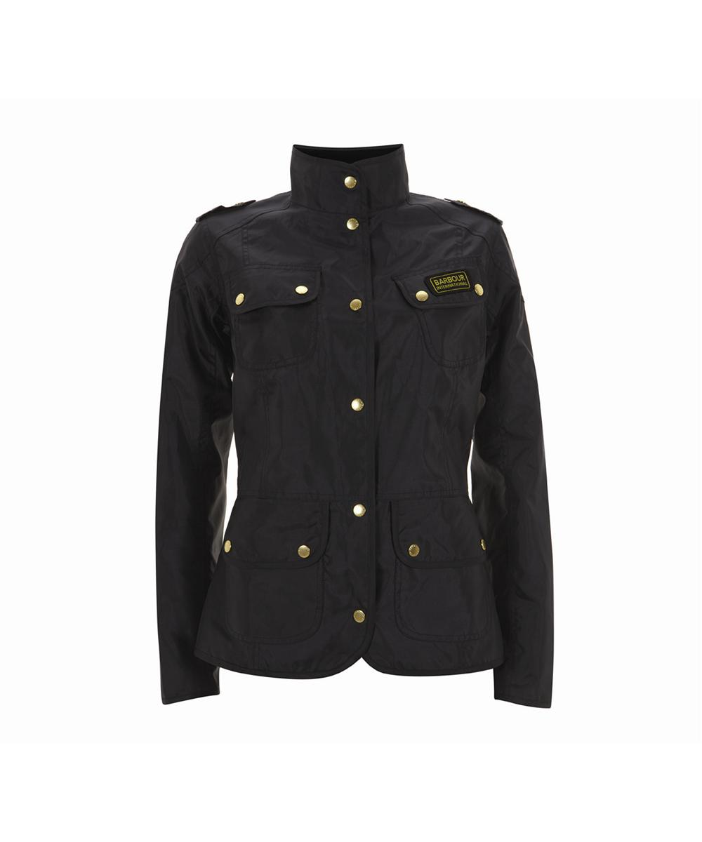 Womens Barbour Vintage International Jacket - Navy