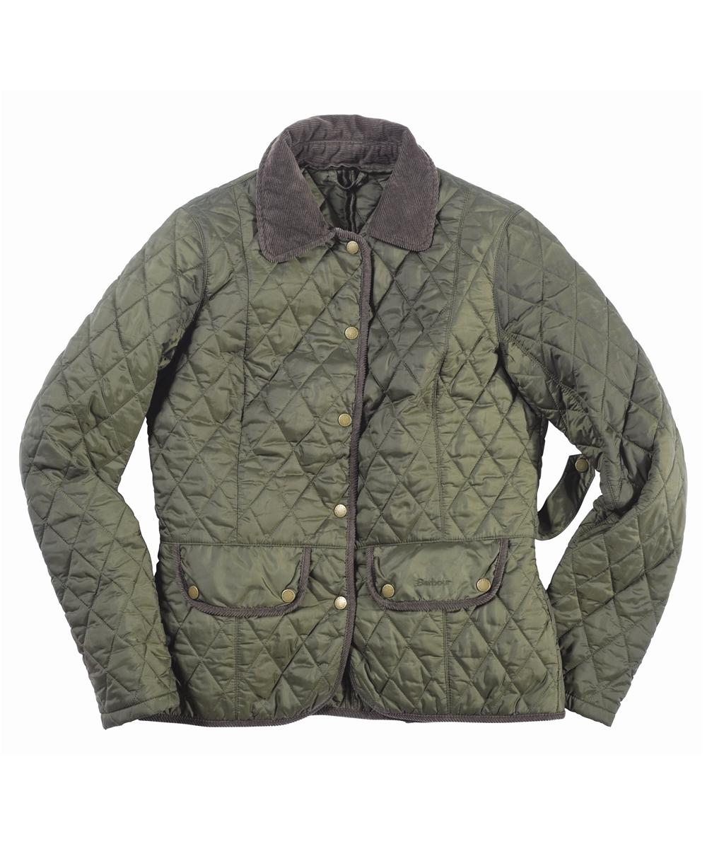 Barbour Vintage Quilted Jacket Olive