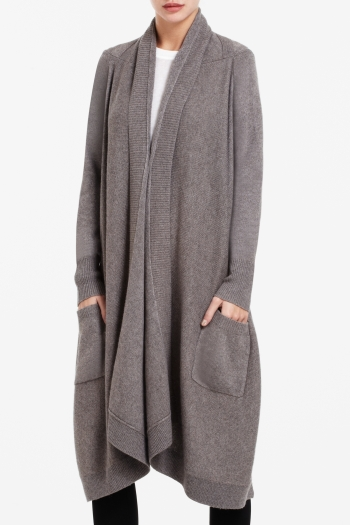 BCBGMAXAZRIA TURNER SIDE-POCKET CARDIGAN